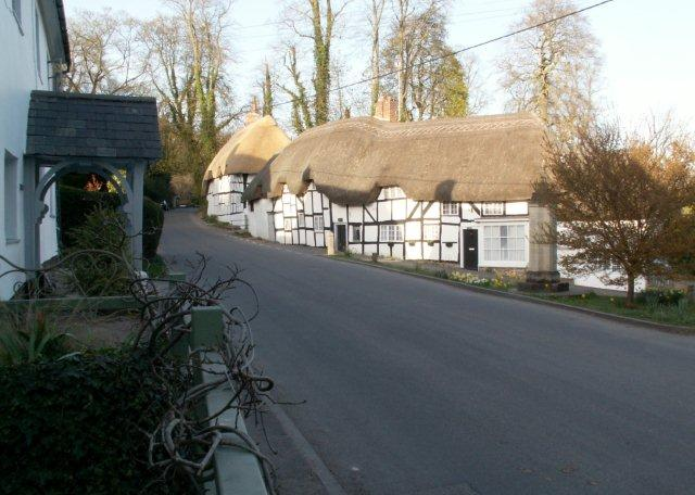 Wherwell - Newly Thatched Cottages