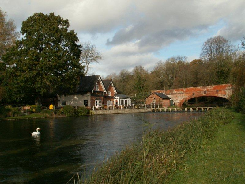 Wherwell - Testcombe Bridge and Mayfly